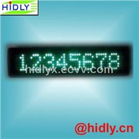 7*80 LED Message Display Board