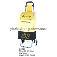 polyester shopping trolley