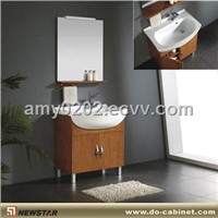 Solid Wood Bath Cabinet