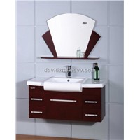 solid wood bathroom cabinet/furniture/vanity