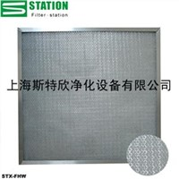 washable synthetic filter panels