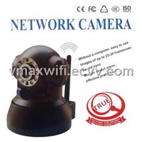 Wireless Network PTZ Camera