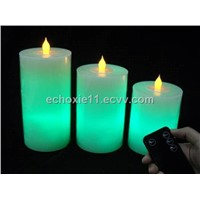 Remote control LED Wax Candle