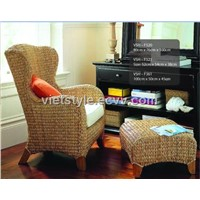 water hyacinth chair