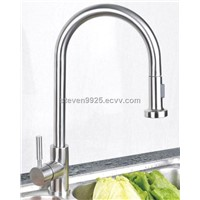 stainless steel pull out faucet