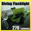 CREE Q4 LED Diving Flashlight Torch