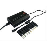 100W 2 in 1 universal laptop adapter with LCD