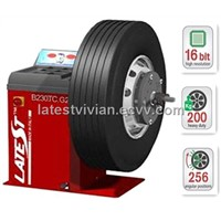 Italy Fasep B230 Truck Wheel Balancer (3 Sensors, 98 RPM Low Speed)