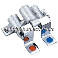 Cast Double Foot Valve