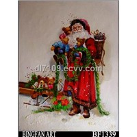 Father Christmas Painting