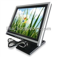 15-inch Touch Screen LCD Monitor with Response Time of 5ms and 450:1 Contrast Ratio