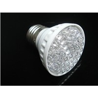 1.8W E27 38 LED Blue Light Sportlight Lamp Bulb 220V