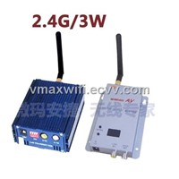 2.4G 8 Channel 3000mW waterproof , protable transmission equipment,long-rang wireless transmission
