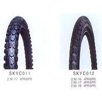 Spot Motorcycle Tyre - 2.50-17 4PR or 6PR