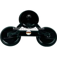 3-Cup Glass Suction Plate King