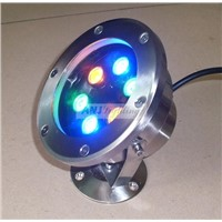 6*1w led underwater light(die casting)