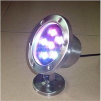 6*3w led underwater light