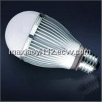 6W G60 Dimmable LED Bulb Light