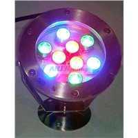 9*1w led underwater light