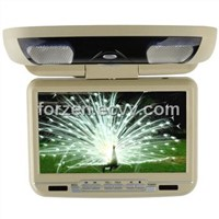 "9"" Flip Down Car DVD Player with TV and Games"