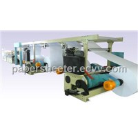 A4 cut-size web sheeter with packaging ream machine