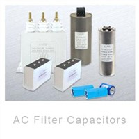 AC Filter capacitors series