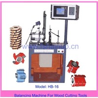 Balancing Machine for Wood Cutting Tools