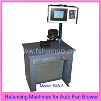 Balancing Machines for Auto Fan Blower