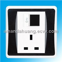 British standard wall switch & socket