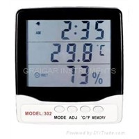 CE Approved Thermo-Hygrometer (GR-302)