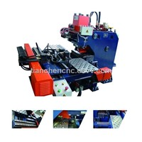 CNC Hydraulic Plate Punching Machine