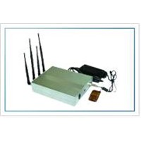 Beautiful Cellular Mobile Phone Jammer with Remote Control 10W (CPB-1080)