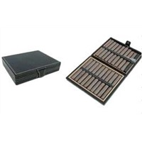 Leather Travel Cigar Humidor - 20CT