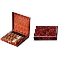 10ct Leather Travel Humidor