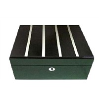 50CT White Line Cigar Humidor