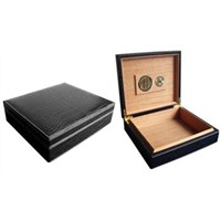 20CT Leather Travel Cigar Humidor