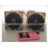 Colour Kraft Paper Audio Speaker