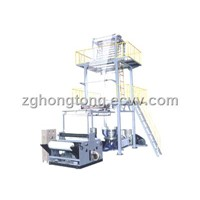 Double-Layer Co-Extrusion Rotary Machine Head Film Blowing Machine Set