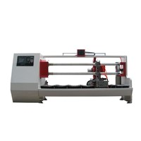 Double shafts and double blades automatic cutter