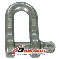 Drop forged D Shackles, Dee shackle Italy type- China rigging manufacturers, suppliers
