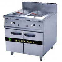Electromagnetic double-cylinder fryer