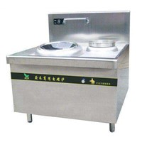 Electromagnetic single head small frying stove