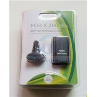 For XBOX360 Slim Battery pack and Chargeable Cable