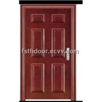 Heat Transfer Print Steel Door (T-06)