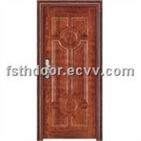 Heat Transfer Print Steel Door: T-07