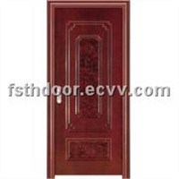 Heat Transfer Print Steel Door (T-14)