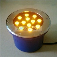 High power led underground light(12*1w, 24VDC), led inground light, underground light