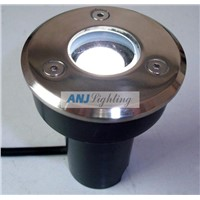 High power led underground light(1*1w,12VDC), led recessed light, led inground light