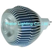 LED Bulb Cree 3x1W Mr16 Base (PL-BU-MR16MC3X1)