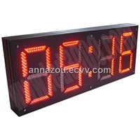 LED Digital Clock Display with FCC
